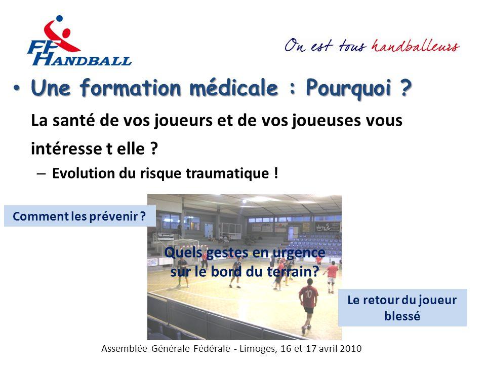 Une formation médicale : Pourquoi