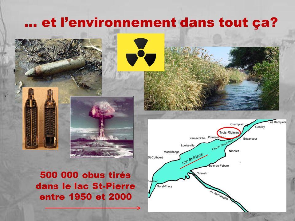 … et l'environnement dans tout ça