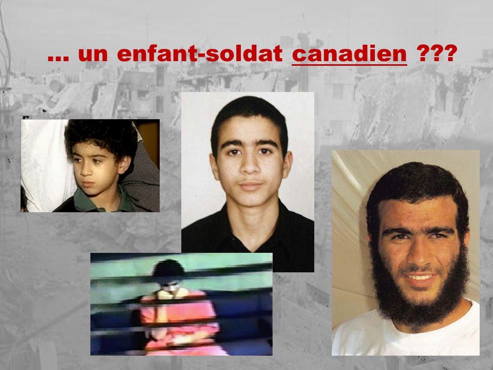… un enfant-soldat canadien