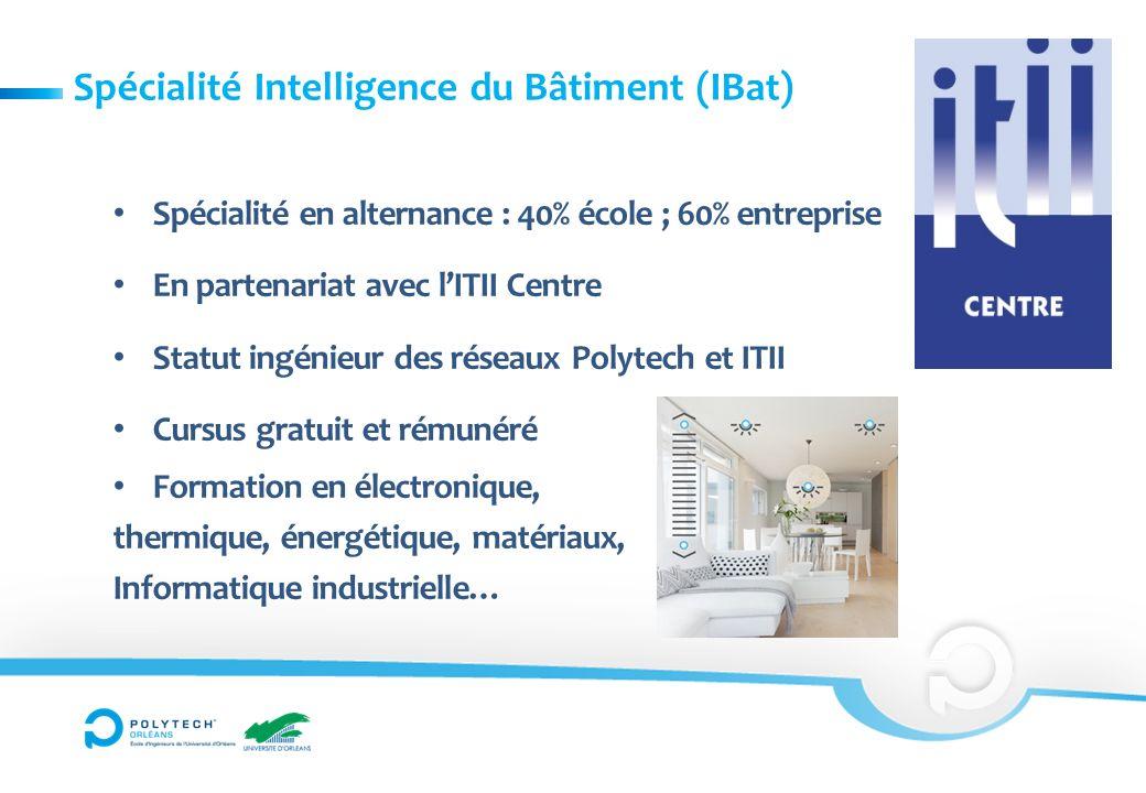Spécialité Intelligence du Bâtiment (IBat)