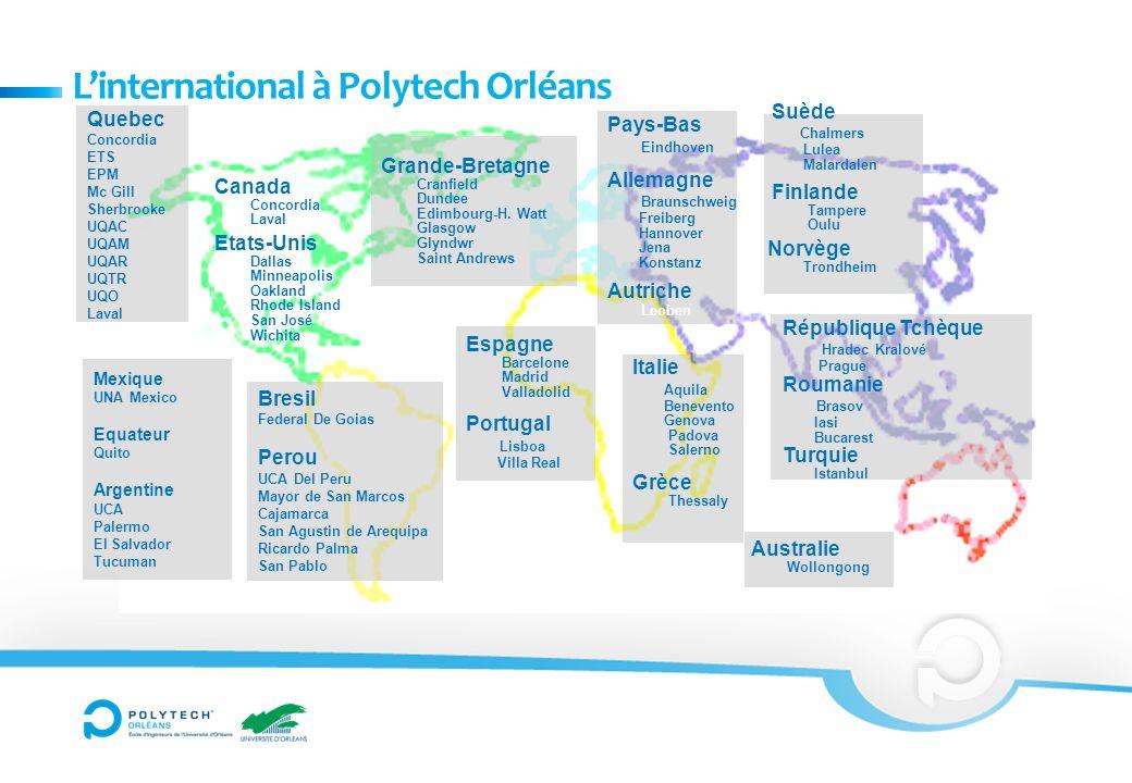 L'international à Polytech Orléans