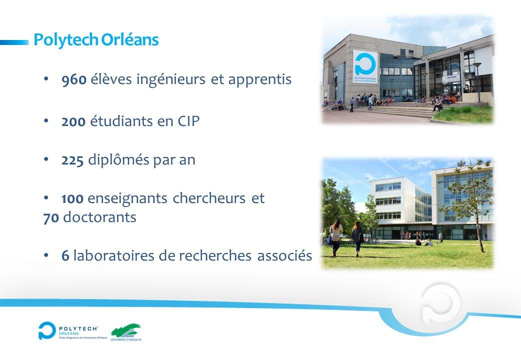 Polytech Orléans 960 élèves ingénieurs et apprentis