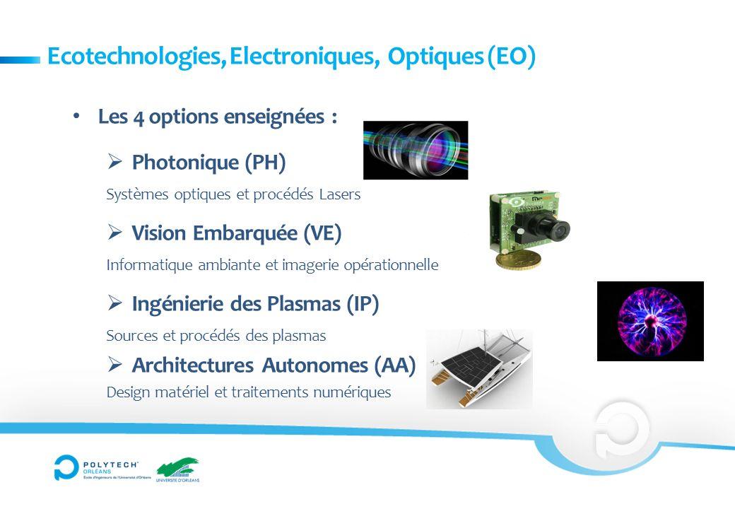 Ecotechnologies, Electroniques, Optiques (EO)