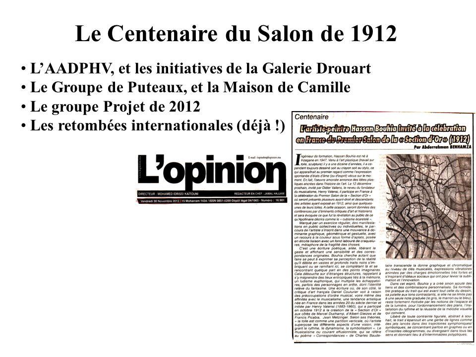 Le Centenaire du Salon de 1912