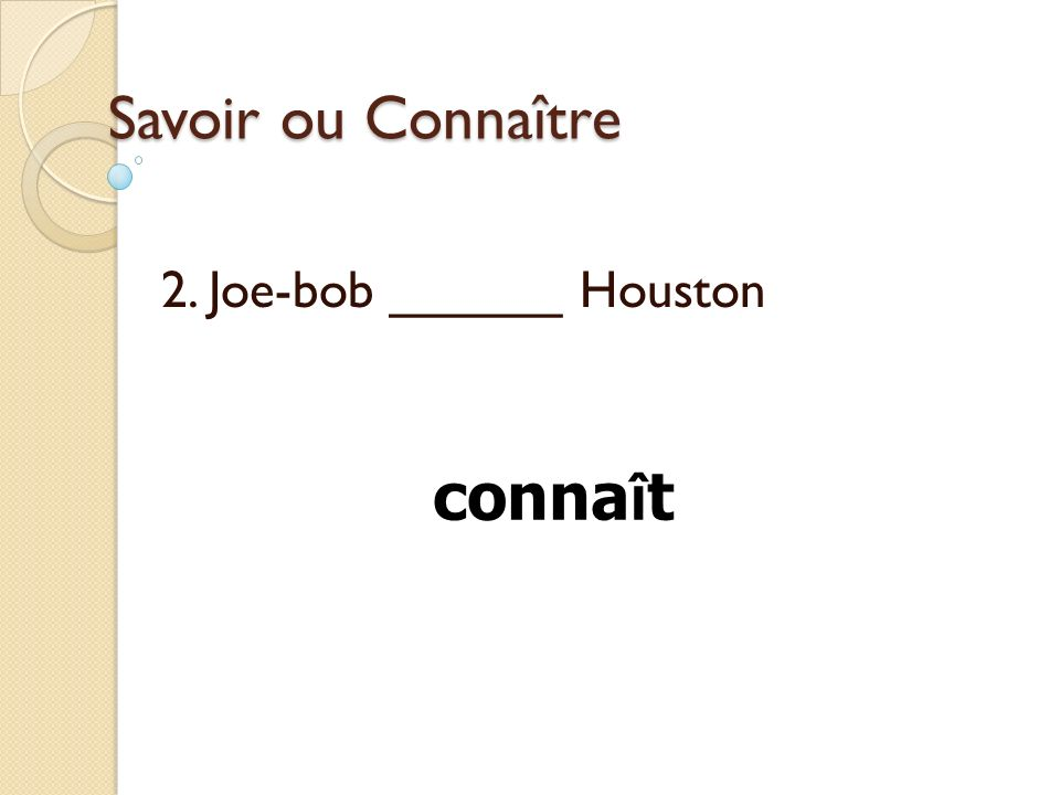 2. Joe-bob ______ Houston