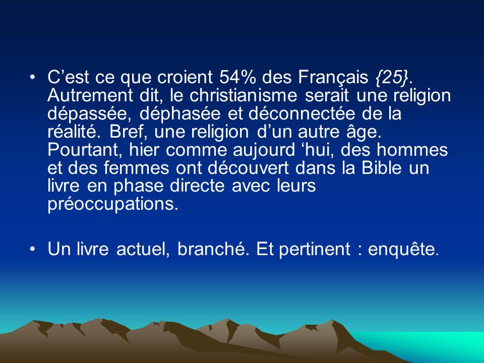 C'est ce que croient 54% des Français {25}