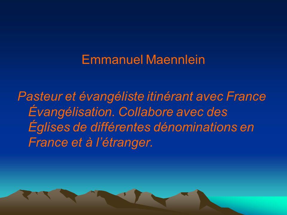 Emmanuel Maennlein