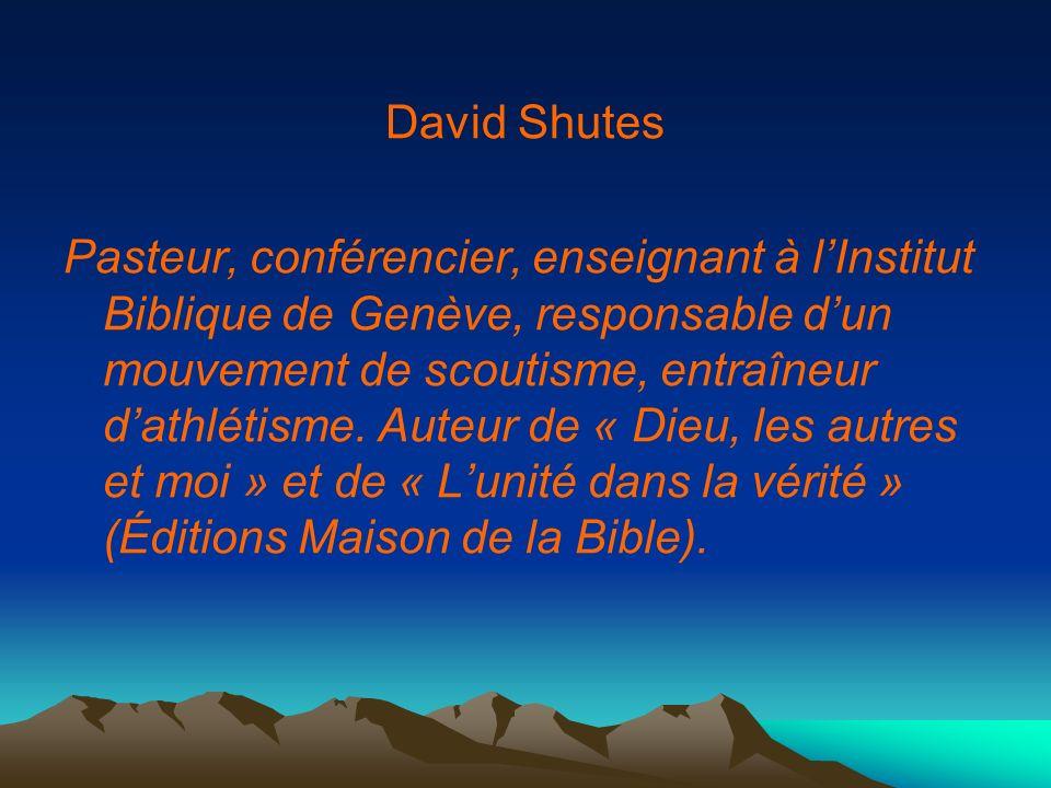 David Shutes