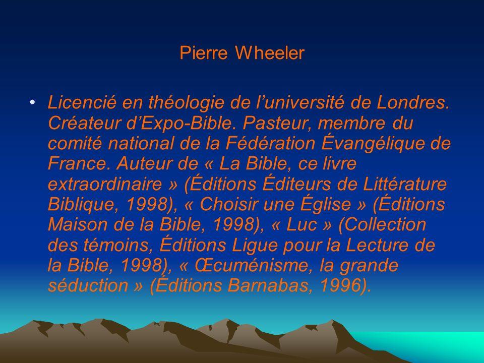 Pierre Wheeler