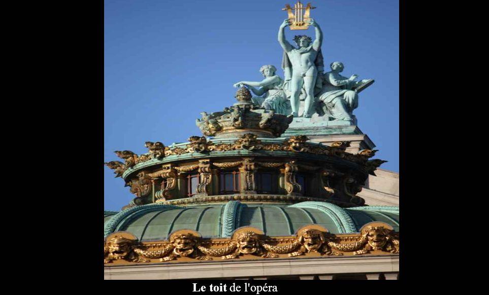 Le toit de l opéra