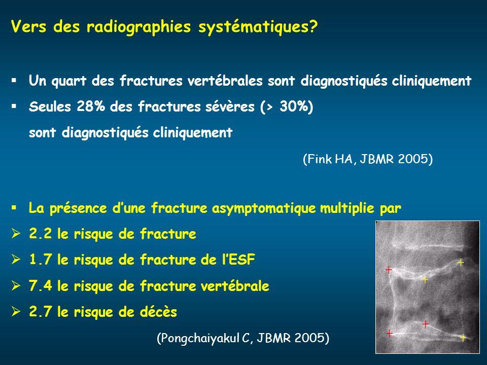 Vers des radiographies systématiques