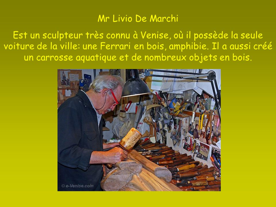 Mr Livio De Marchi