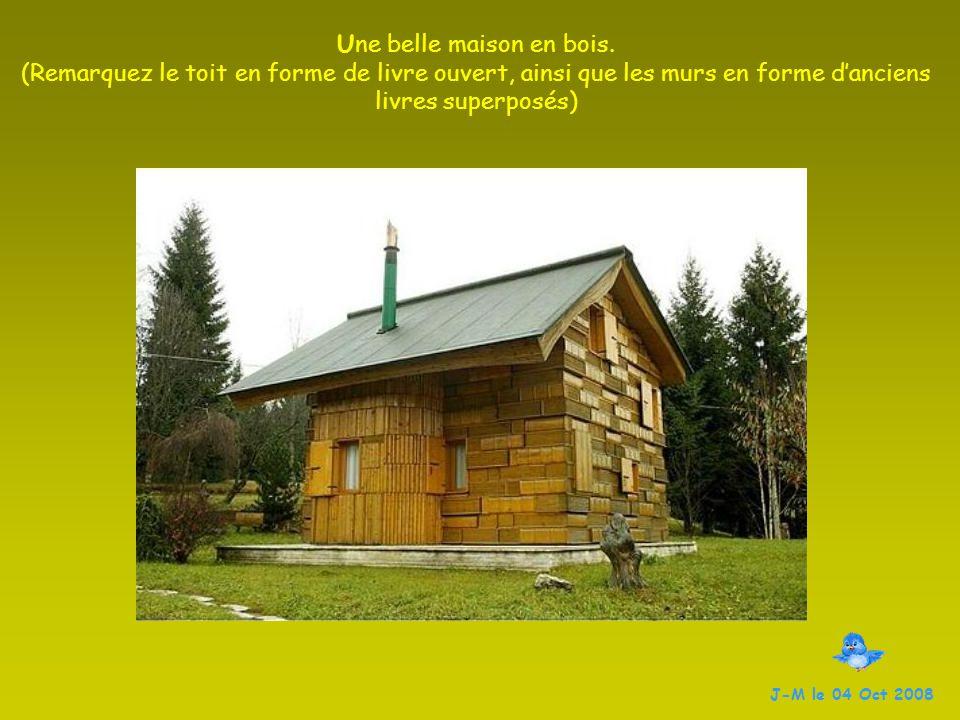 Une belle maison en bois