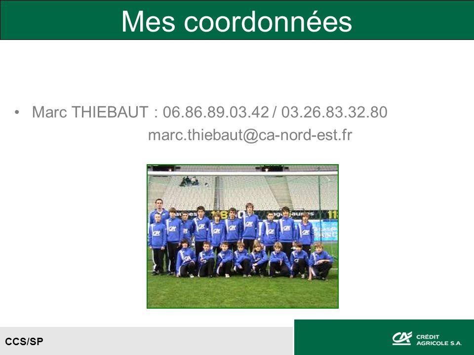 Mes coordonnées Marc THIEBAUT : 06.86.89.03.42 / 03.26.83.32.80