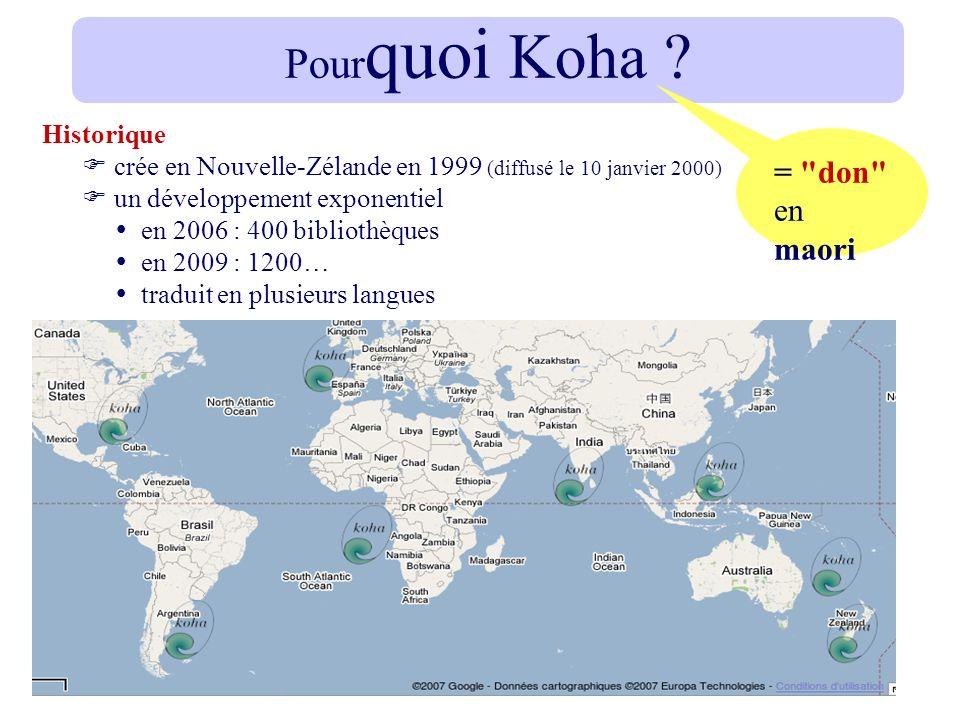 Pourquoi Koha = don en maori Historique