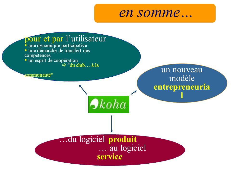 un nouveau modèle entrepreneurial