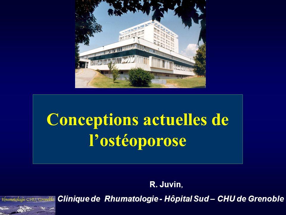 Conceptions actuelles de l'ostéoporose