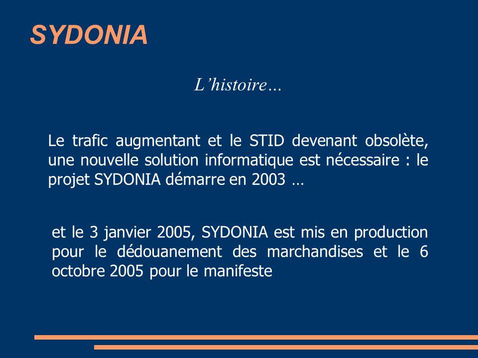 SYDONIA L'histoire…