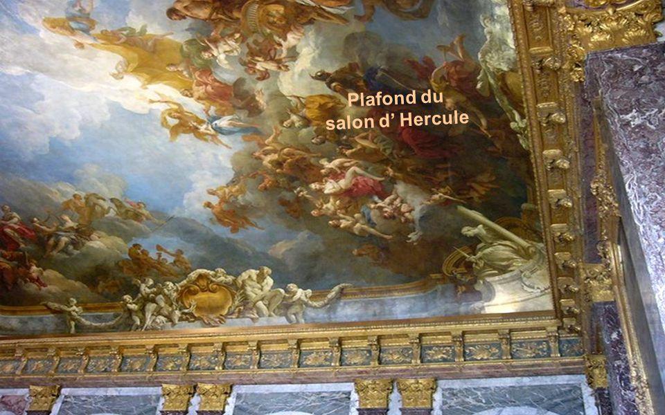 Plafond du salon d' Hercule