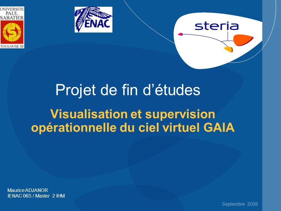 Visualisation et supervision opérationnelle du ciel virtuel GAIA