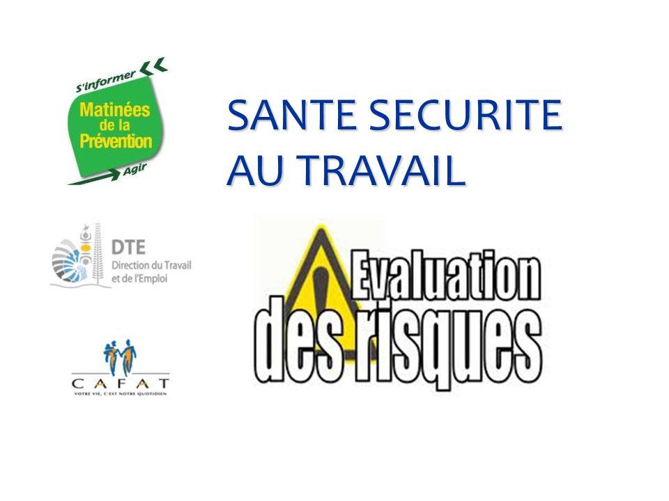 SANTE SECURITE AU TRAVAIL