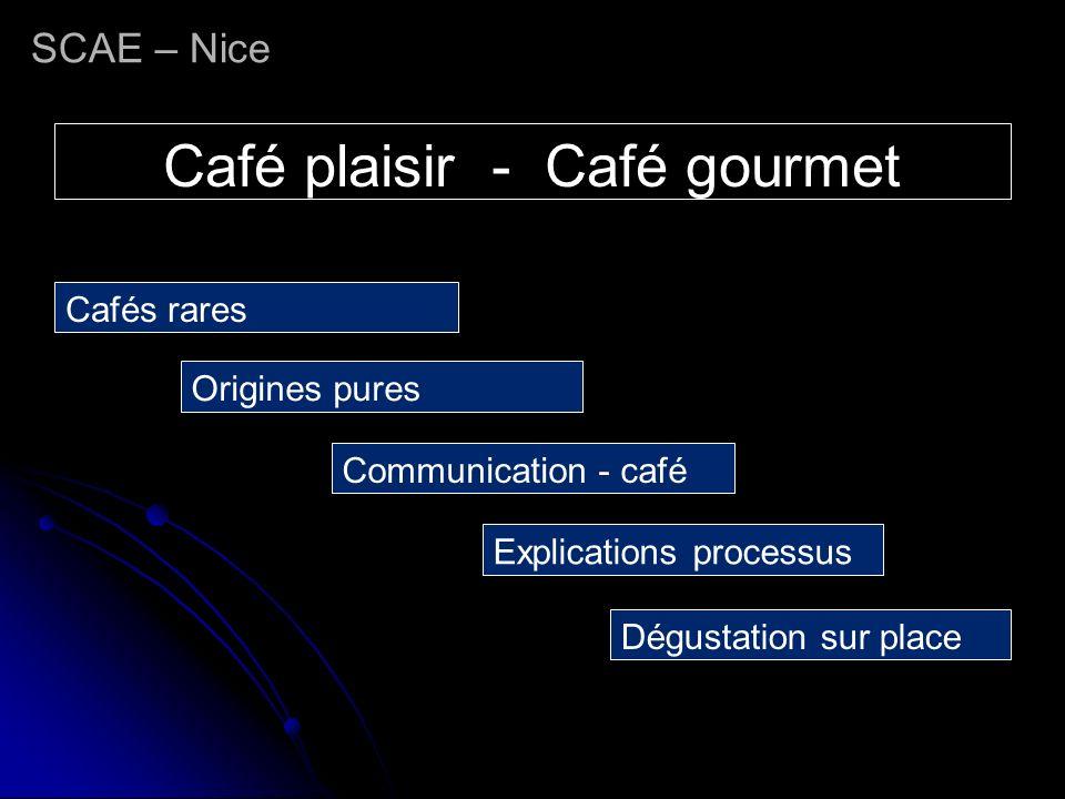 Café plaisir - Café gourmet