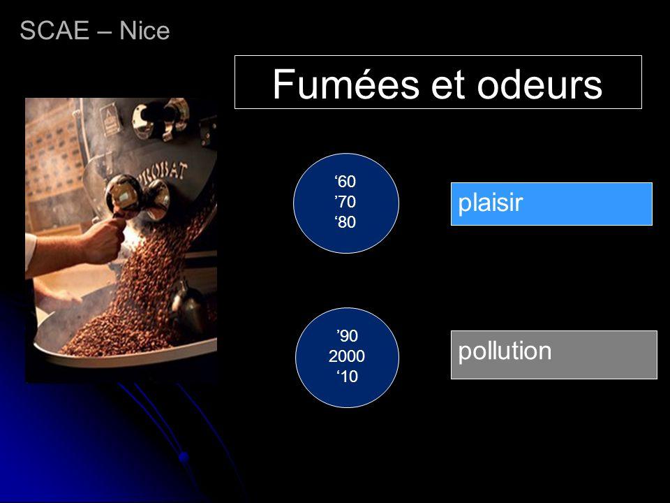 Fumées et odeurs SCAE – Nice plaisir pollution '60 '70 '80 '90 2000