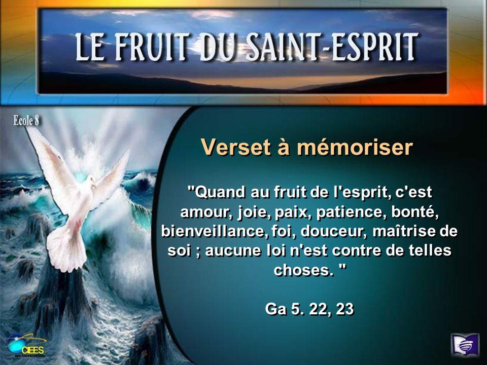 Verset à mémoriser