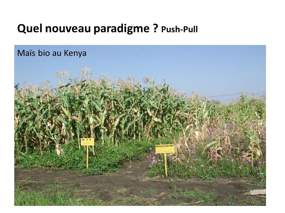 Quel nouveau paradigme Push-Pull