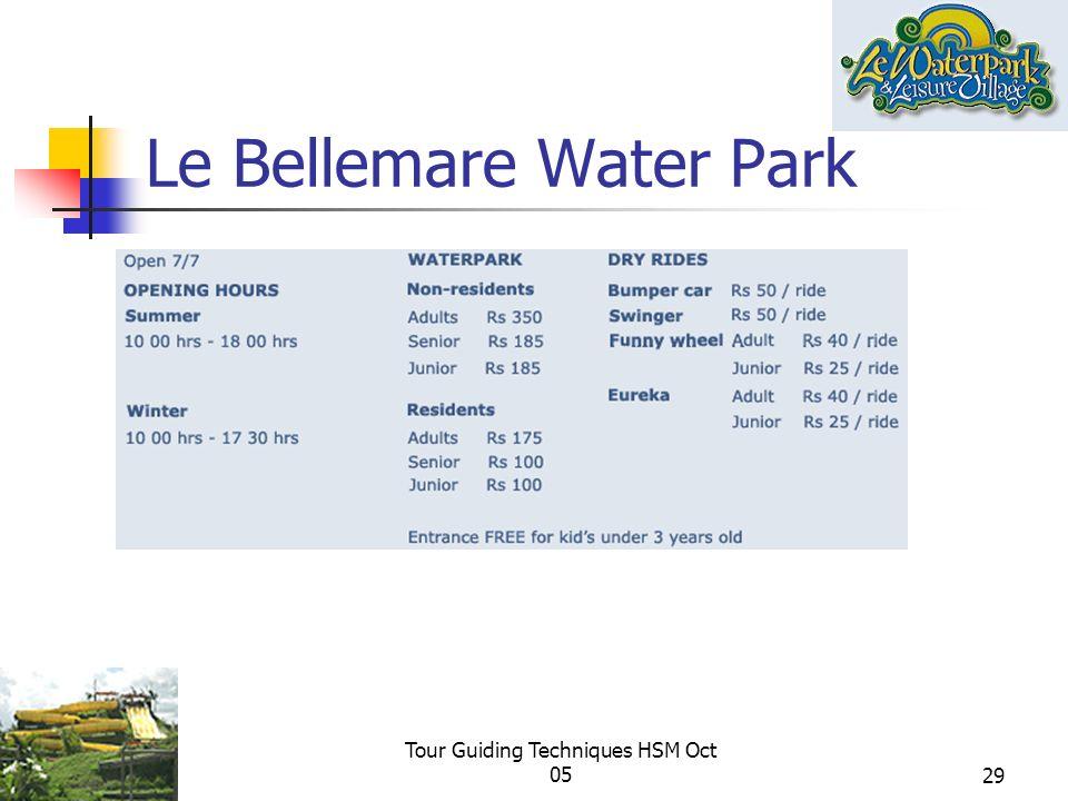 Le Bellemare Water Park