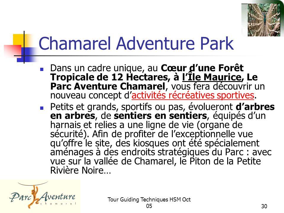 Chamarel Adventure Park
