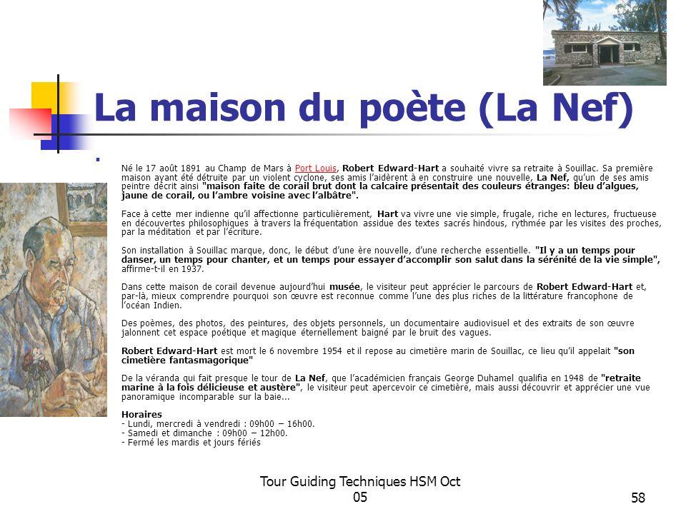 La maison du poète (La Nef)