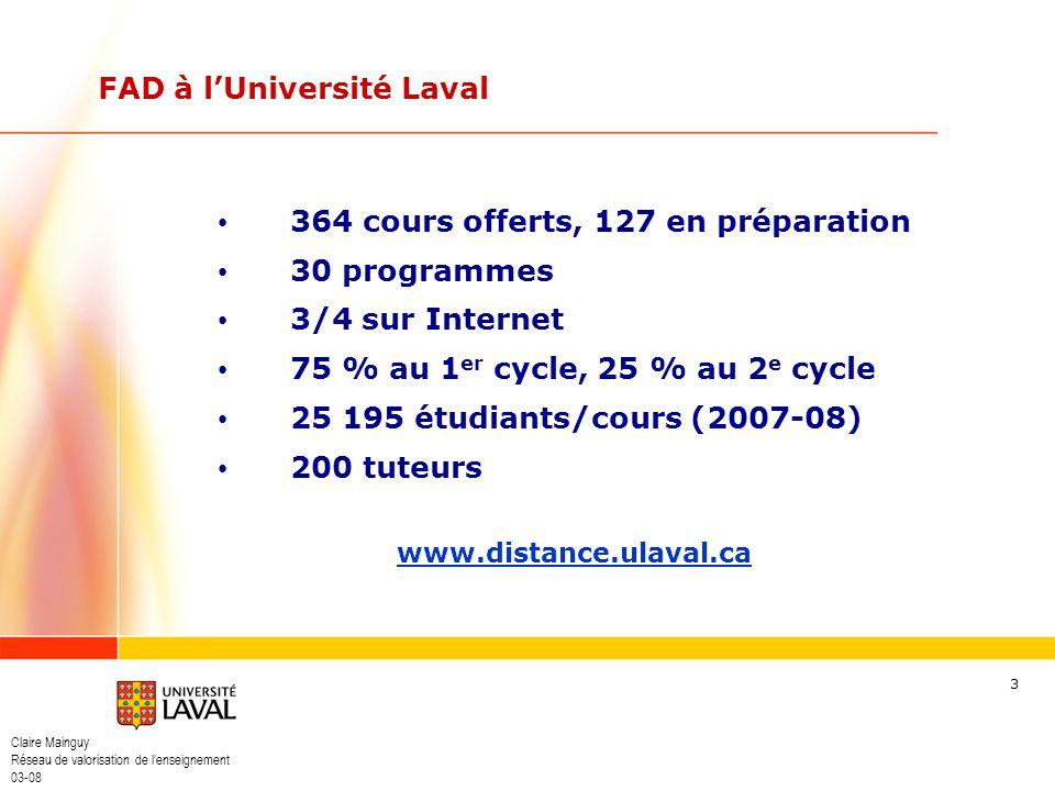 FAD à l'Université Laval