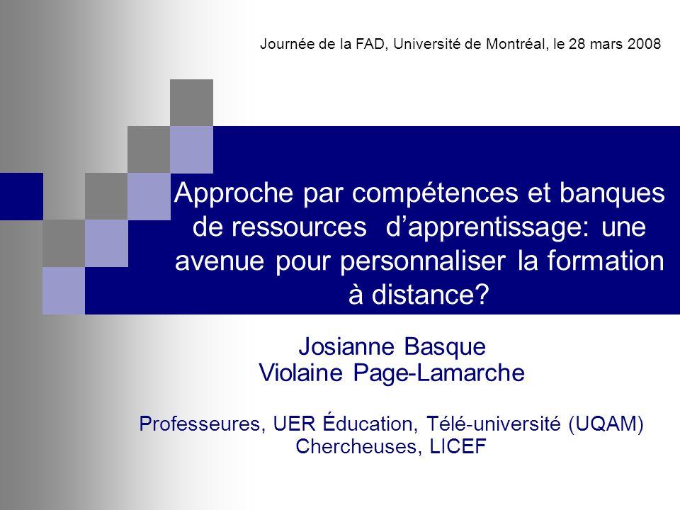 Journée de la FAD, Université de Montréal, le 28 mars 2008