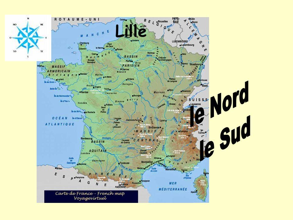Lille le Nord le Sud