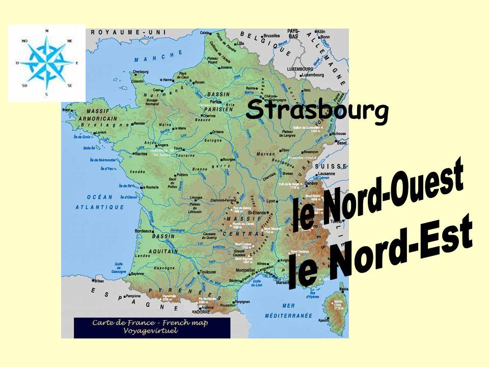 Strasbourg le Nord-Ouest le Nord-Est