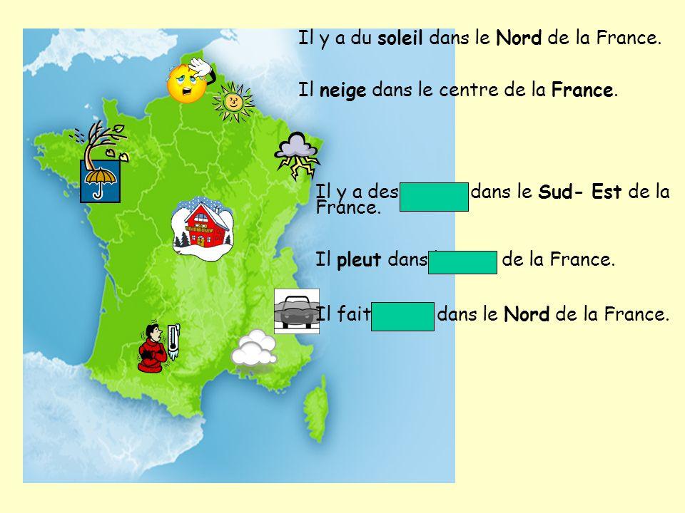 Il y a du soleil dans le Nord de la France.