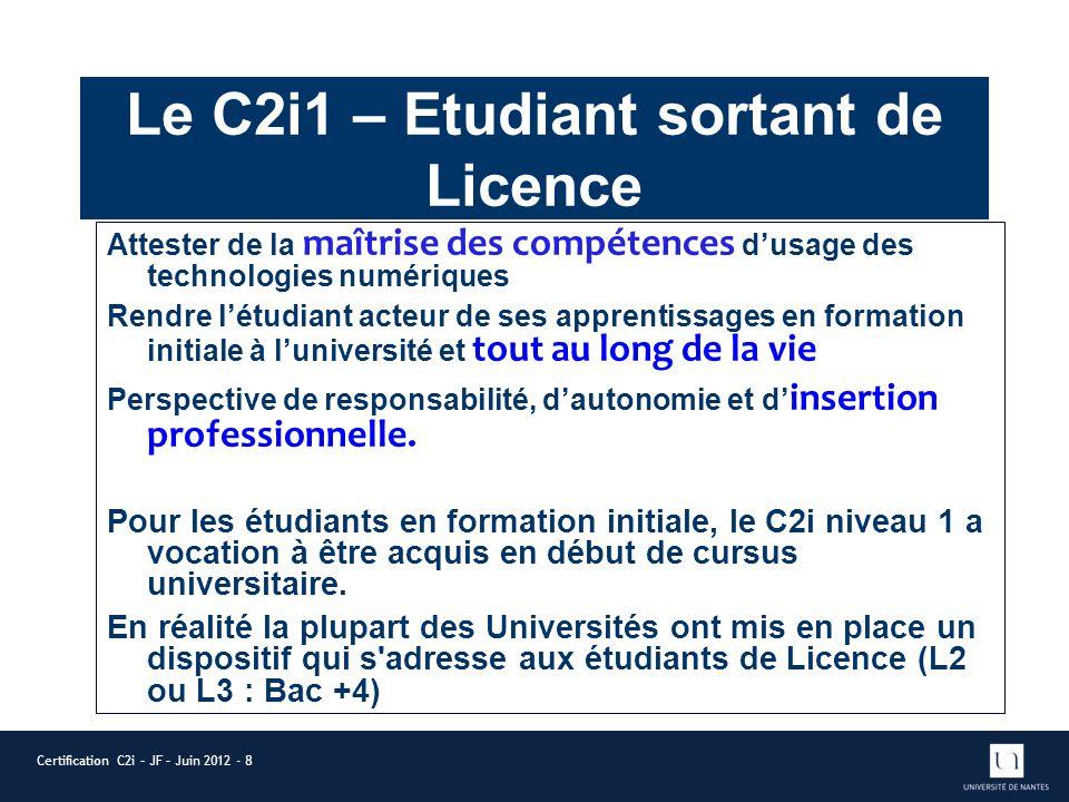le certificat informatique et internet