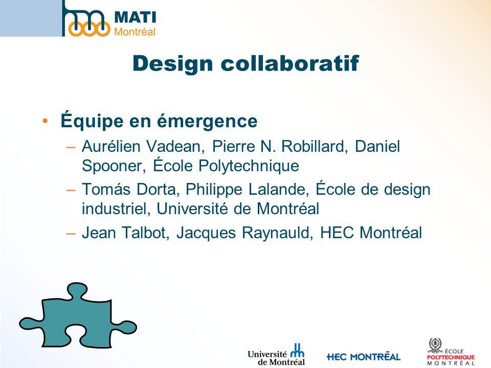 Design collaboratif Équipe en émergence