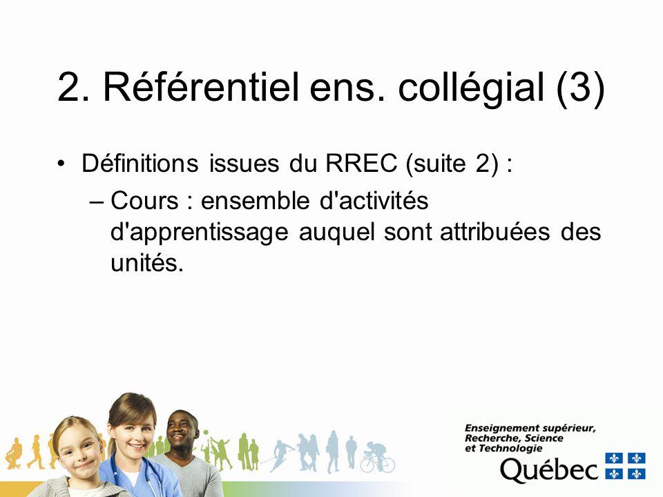 2. Référentiel ens. collégial (3)