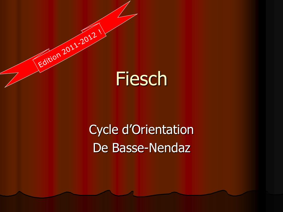 Cycle d'Orientation De Basse-Nendaz