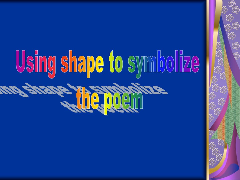 Using shape to symbolize