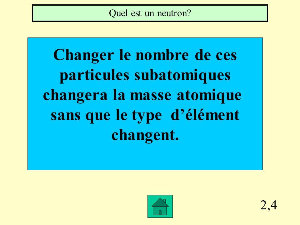 Changer le nombre de ces particules subatomiques
