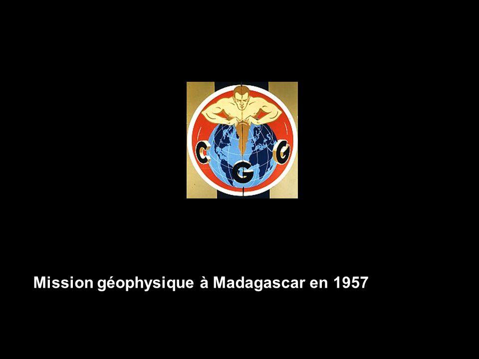 Mission géophysique à Madagascar en 1957