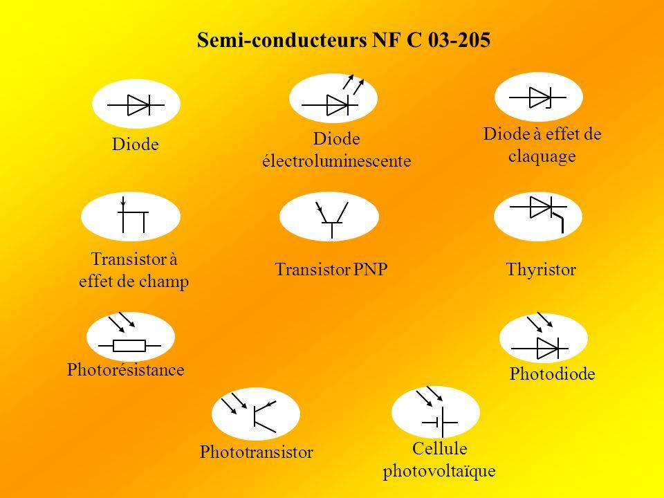 Semi-conducteurs NF C 03-205