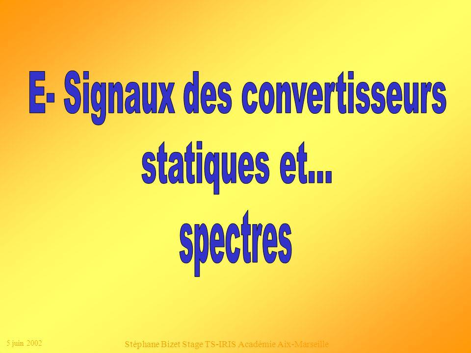 E- Signaux des convertisseurs statiques et...