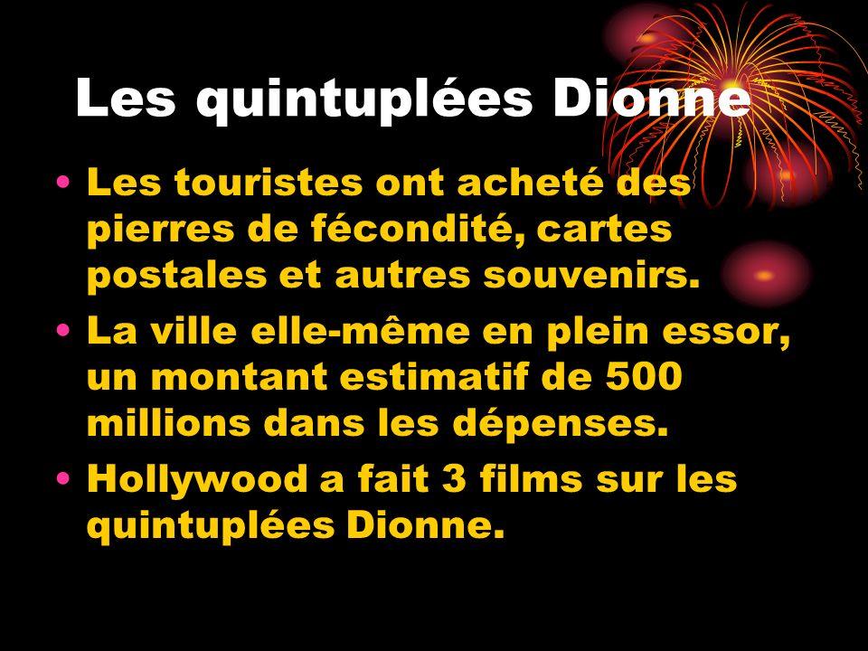 Les quintuplées Dionne