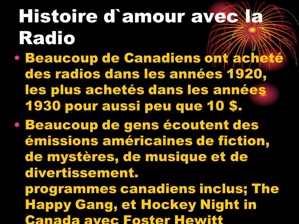 Histoire d`amour avec la Radio