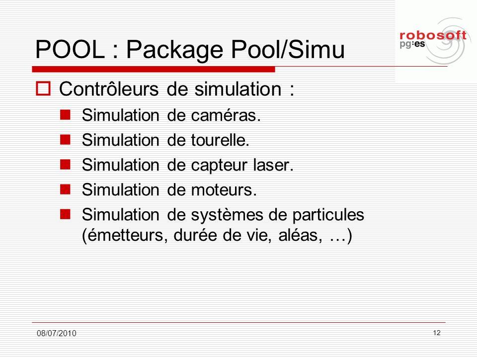 POOL : Package Pool/Simu