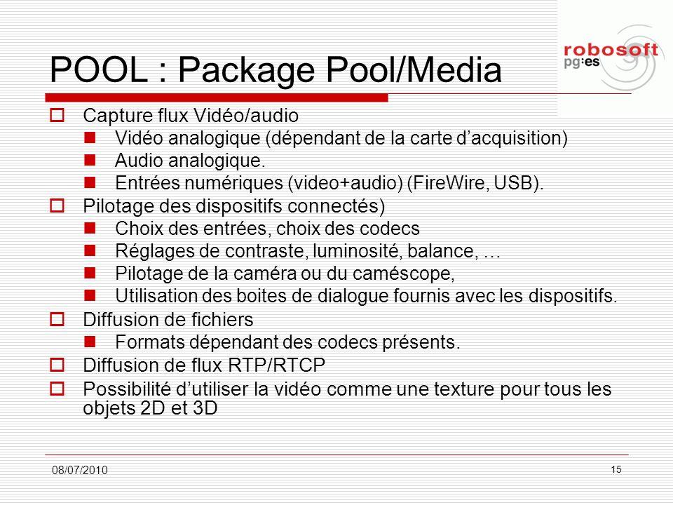 POOL : Package Pool/Media